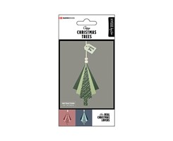 Modern Christmas Trees 6pcs