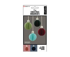 Modern Christmas Ornaments 6pcs