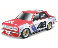 BRE Datsun 510 R/C 1:24 2,4GHz red/white