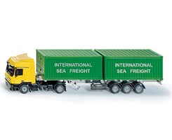 Truck with container 1:50