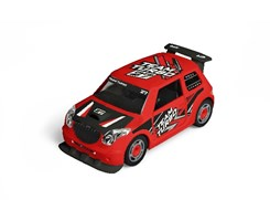 1:20 JUNIOR KIT Pull Back Rallye Car, red