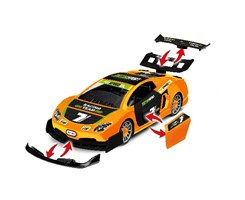 1:20 JUNIOR KIT Pull Back Racing Car, orange