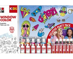 Fun & Fancy Party Pack 6x80ml + 6x25ml liners etc.